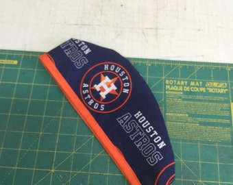 HOUSTON ASTROS, Surgeon Cap/Surgical Hat, Handmade