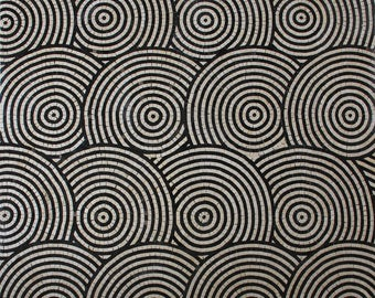 Spirals Circles in Motion Carpet Floor tile Marble Mosaic CR1295