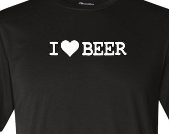 I Heart Beer shirt