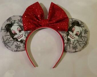 Cruella Deville ears