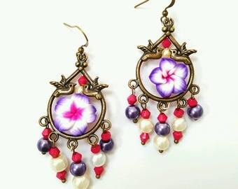 Bird cage earrings   Etsy