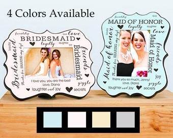 Personalized Bridesmaid Thank You Gifts, Gifts For Bridesmaids, Gifts For Wedding Party, Maid Of Honor Gifts, Matron Of Honor Gifts