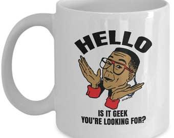 Geeky Gifts - Computer Geek Mug - Hipster Mug - Nerd Gifts - Geek Glasses Printed Mug - 90s Art Cup - Nerd Gifts