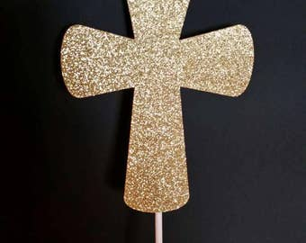 Cross, gold, silver