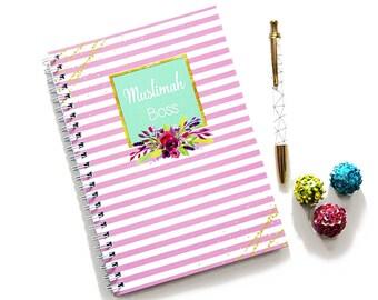 Muslimah Boss Notebook, List Planner, Islamic Gift