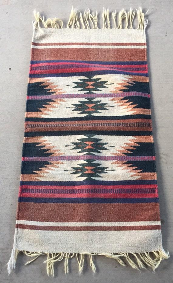 Zapotec Mexican Woven Rug