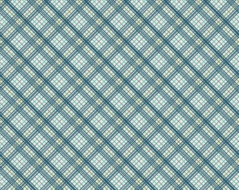 Offshore Plaid in Blue from Offshore by Deena Rutter for Riley Blake Designs