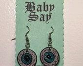 RESERVED FOR KELSEYCOSTUMES Eyeball earrings