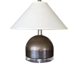 Mid Century Modern squat lamp