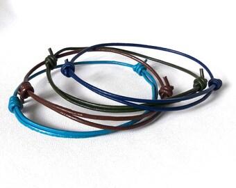 LEATHER Bracelet Mens Gift For Husband Gift Groomsmen Gift For Brother Gift For Groom Boyfriend Gift Birthday Gift For Him Surfer bracelet