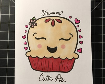 Cutie Pie Love Card