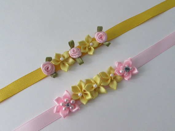 Canary Fairy bun garland package