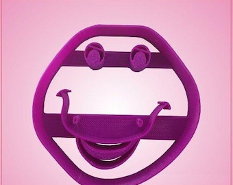 Barney Face Cookie Cutter