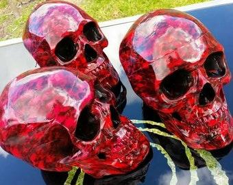 Skull Hellboy skull lifesize
