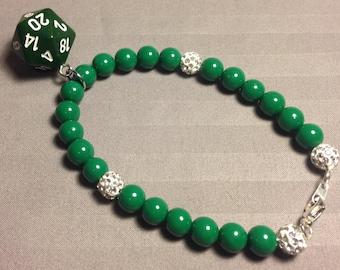 D20 bracelet