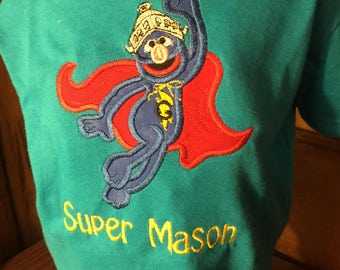 Super Grover Personalized Shirt