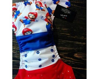 PRE-ORDER diaper pocket size / one size diaper cloth / 10-40 lbs.