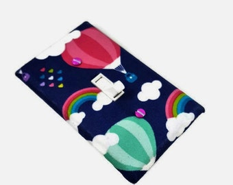 Hot Air Balloon Light Switch Cover / Girls Nursery Decor