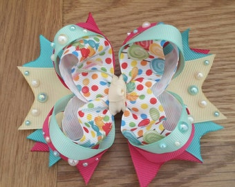 Candy Shop Stacked Boutique Bow