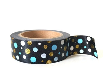 Shinny dot washi tape