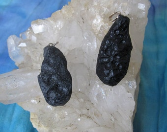 Tektite Pendant, Tectite Pendant, Tectite, Tektite, Alien Meteorite Pendant