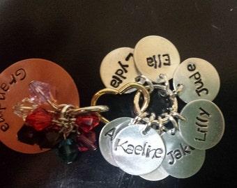 Grandma necklace (8 names)