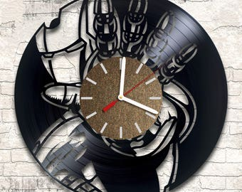 Iron Man vinyl wall clock