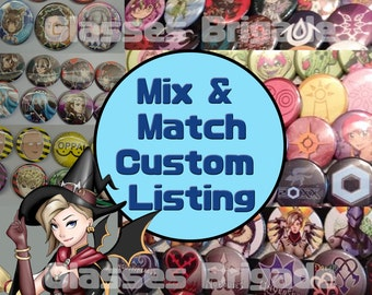 Mix & Match Buttons and more!