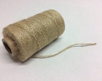70meters jute twine jute rope on cone 2 ply