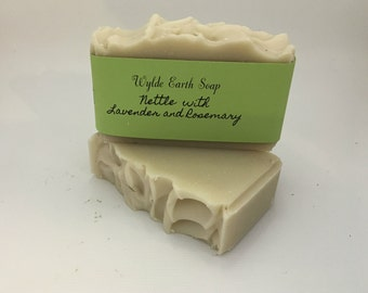 Nettle Handmade Cold Process botanical bar soap