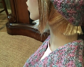 hat and cowl matching set