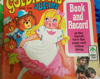 Book and Record - Goldilocks & the Three Bears - Peter Pan Records