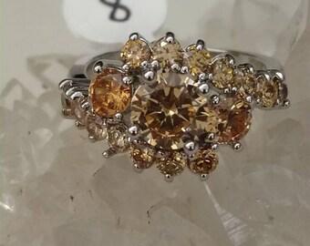 Morganite Ring Size 8