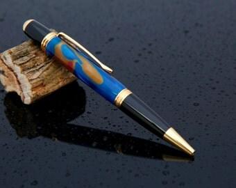 Metallic Swirl Pen