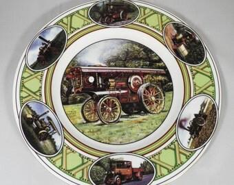 Coalport Decorative Plate ' The Traction Engine'