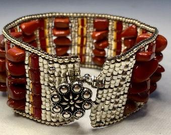Hand Woven Beaded Bracelet