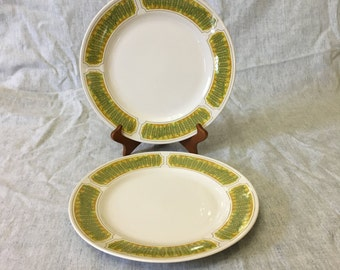Vintage Franciscan Hawaii Dinner Plates, Set of 2