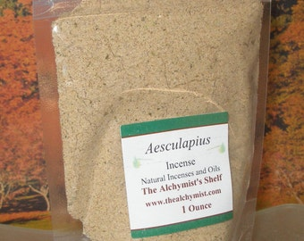 Aesculapius Incense Powder Special Wiccan Craft 1 oz Pagan Altar Ritual Spell