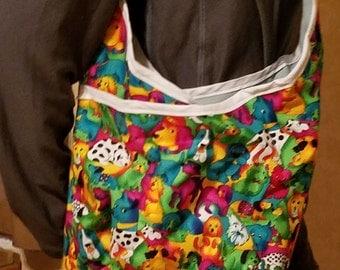 Dog Print Over the shoulder bag
