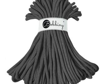 NEW! Giant Bobbiny Rope – Graphite (50m)