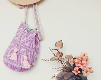 Handmade bohemian festival bag