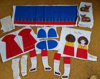 Snow White ready to make Doll