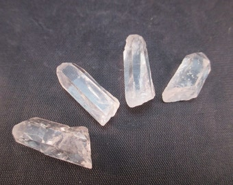 Sirius Quartz Crystal Points Set of 4 - Old Stock - Protection, Connection, Healing, Community, Energy Work, Remove Blockages - Crystal Cave