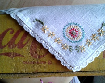 Old Fashion Hankie Embroidery Kit