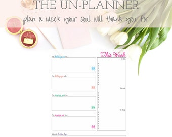 The Un-Planner - Bright and Cheery