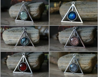 Deathly Hallow Necklace different colours
