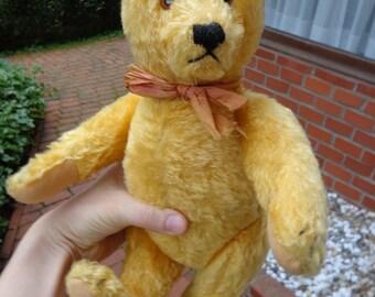 Vintage Steiff teddy bear 1960's very cute blonde Steiff teddy