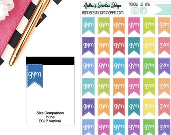 Gym Flags Planner Stickers