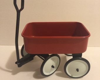Small Vintage Tin Wagon