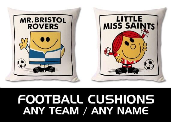 Personalised football cushions - Any Team